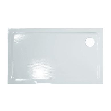 Piatto doccia acrilico Mixer 100 x 70 cm bianco