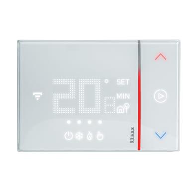 Termostato BTICINO Smarther SX8000W da parete bianco