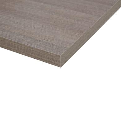 Piano cucina su misura in truciolato laminato fenix , spessore 6 cm