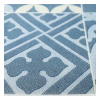 Rivestimento per suolo in pvc flessibile Boho Chic Amadora7 , Sp 2.8 mm blu