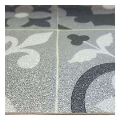 Rivestimento per suolo in pvc flessibile Boho Chic Algarve9 , Sp 2.8 mm grigio metallizzato