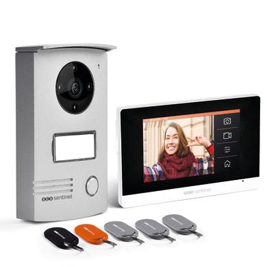 Videocitofono ip monofamiliare  SCS SENTINEL pvf0046 2 fili