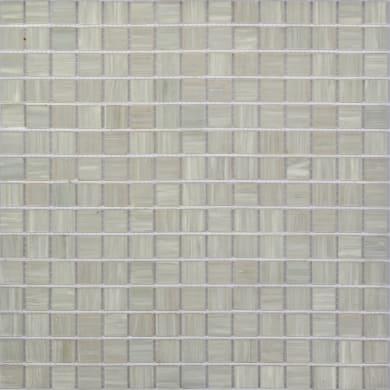 Mosaico Poolnacre H 32.7 x L 32.7 cm bianco