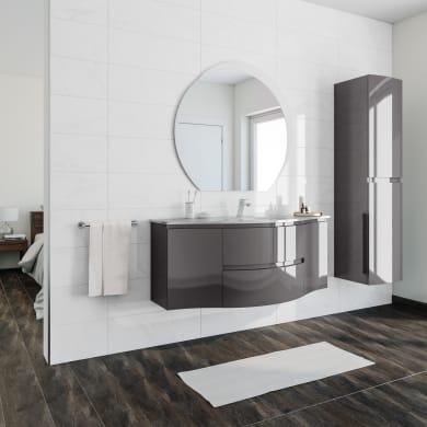 Mobile bagno Vague antracite L 138 cm