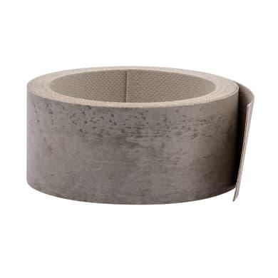 Bordo effetto cemento L 300 x H 4.5 cm