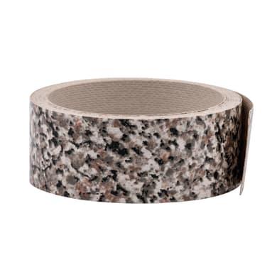 Bordo effetto pietra L 300 x H 3.5 cm
