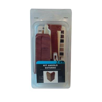 Angolare esterno in kit kit angolo esterno battiscopa 7011 noce chiaro 5 x Sp 20 mm