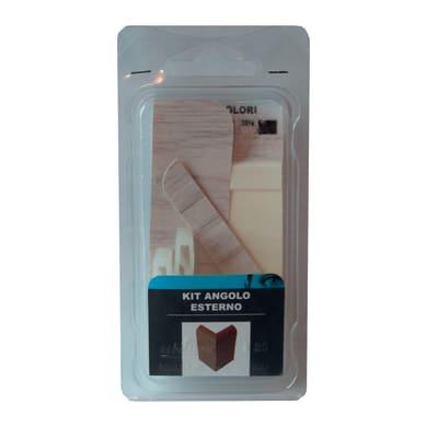 Angolare esterno in kit kit angolo esterno battiscopa 7011 rovere bianco 5 x Sp 20 mm
