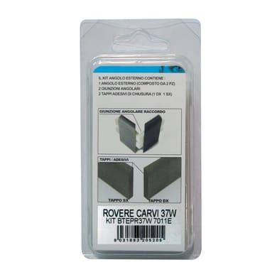 Angolare esterno in kit rovere rustico 5 x 11 cm Sp 20 mm
