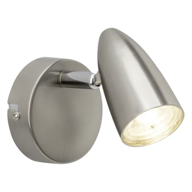 Faretto singolo Nano cromo, in metallo, LED integrato 4W 350LM IP20 BRILLIANT