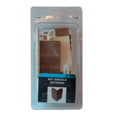Angolare esterno in kit kit angolo esterno battiscopa 7011 miele 5 x Sp 20 mm