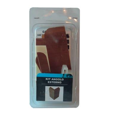 Angolare esterno in kit kit angolo esterno battiscopa 7011 teak 5 x Sp 20 mm