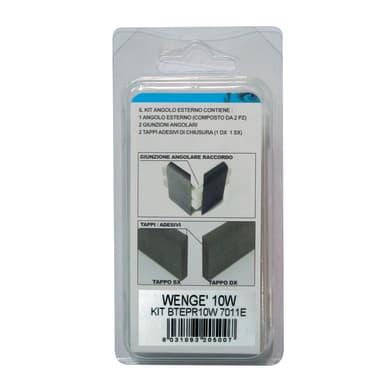Angolare esterno in kit wengè 5 x 11 cm Sp 20 mm