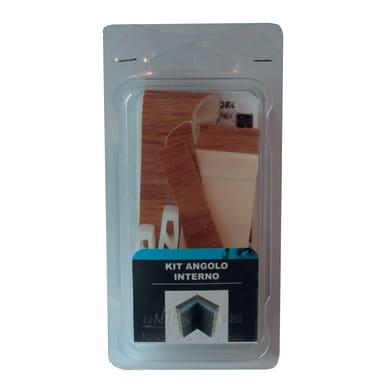 Angolare interno in kit kit angolo interno battiscopa 7011 rovere chiaro 5 x Sp 20 mm