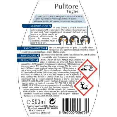 Pulitore spray Starwax per fughe 500 ml