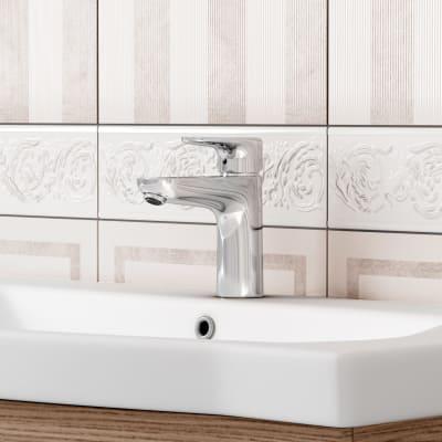 Mobile bagno Solitaire marrone L 97 cm