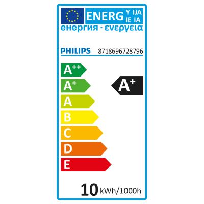3 lampadine decorative LED Philips Hue E27 =60W goccia multicolore (RGB) 220°