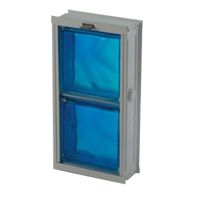 Telaio basculante per 2 vetri 2 pz 21,6 x 42,5 x 8,8 cm
