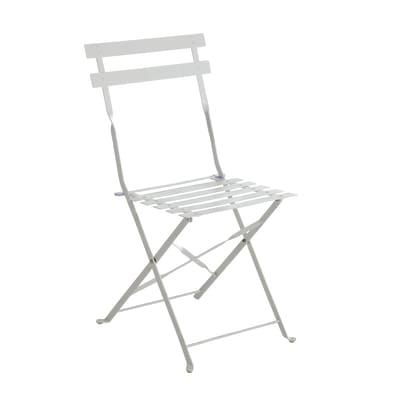 Sedia pieghevole Color bianco prezzi e offerte online | Leroy Merlin
