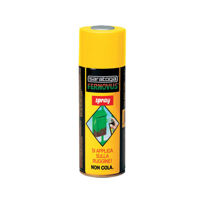 Smalto per ferro antiruggine spray Saratoga Fernovus verde antichizzato 0,4 L