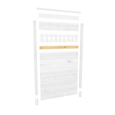 Perlina per inserto plexiglass/metallo Eagle L 125 x H 8,5 cm
