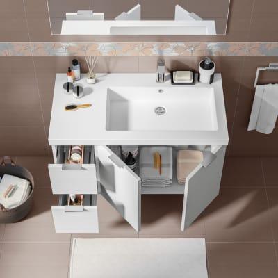 Mobile bagno Linea bianco L 95 cm