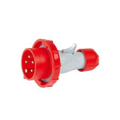 Spina industriale 3P+N+T da 16 ampere