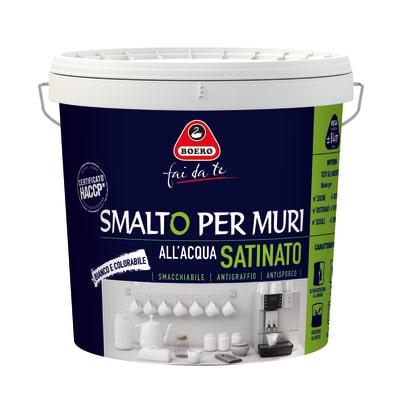 Smalto murale bianco satinato Boero 7 L prezzi e offerte ...