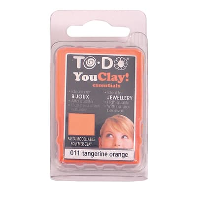 Pasta modellabile You Clay! arancione neon orange 56 g