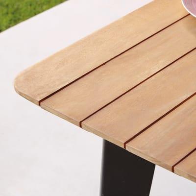 Tavolo Cosmo, 100 x 200 cm marrone