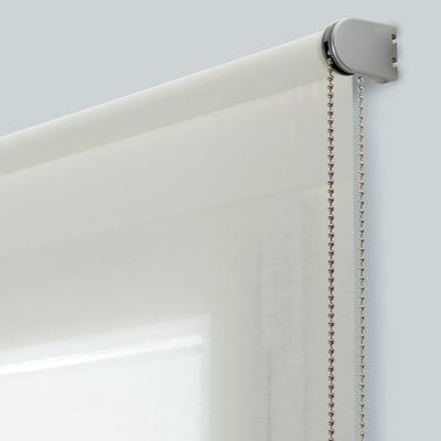 Tenda a rullo Mesh bianco 100 x 250 cm