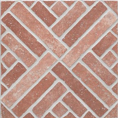 Piastrella mattone 31 x 31 cm rosso prezzi e offerte for Profili per piastrelle leroy merlin