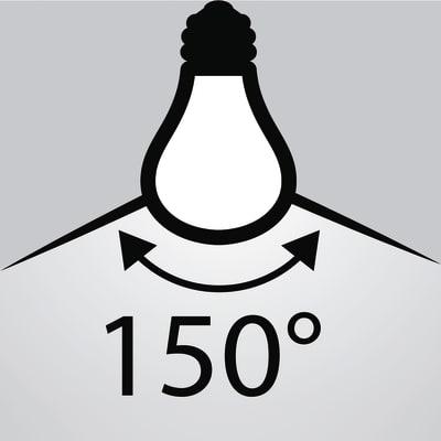 6 lampadine smart LED E27 =60W goccia luce naturale 150°