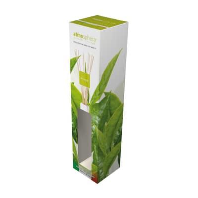 Diffusore con bastoncini the verde 250 ml