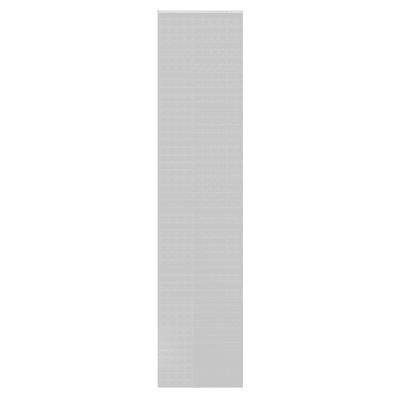 Tenda a pannello resinato righe orizzontali panna 60 x 300 cm