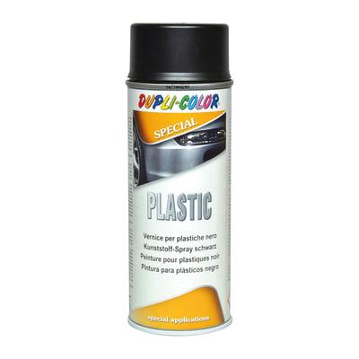 Smalto spray a solvente per plastica nero RAL opaco 400 ml