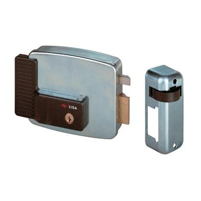 Serratura elettrica con cilindro tondo per porta in ferro, carrai e cancelli, entrata 5