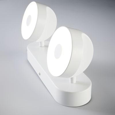 Barra a 2 luci Inspire Jino bianco LED integrato