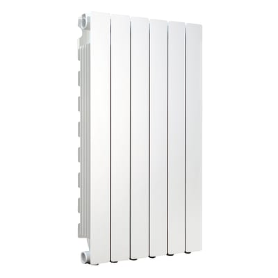Radiatore Modern in alluminio 6 elementi interasse 800 mm
