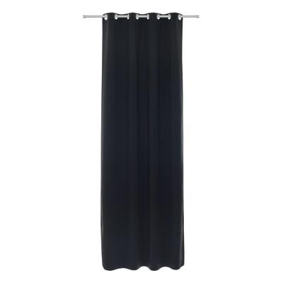 Tenda Oscurante occhielli nero 140 x 280 cm