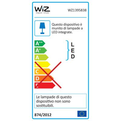 Kit 3 faretti ad incasso LED integrato WiZ Colours Glyph nickel fisso rotondo Ø 9,5 cm 3 x 8 W = 345 Lumen luce CCT e RGB