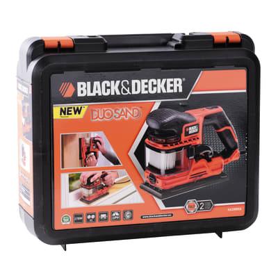 Levigatrice orbitale Black & Decker Duosound KA330EKA