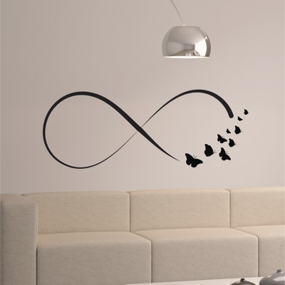 Wallstickers XL Simbolo infinito