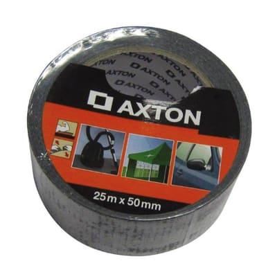 Nastro per riparare Axton nero 25 m x 50 mm