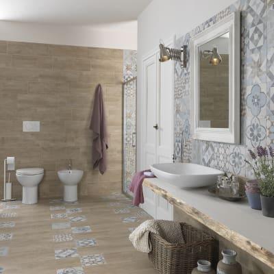 Piastrella villa 20 x 20 cm multicolor prezzi e offerte for Rivestimenti leroy merlin