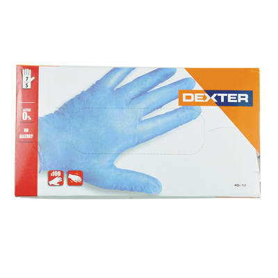 Guanti in nitrile Dexter 50 paia tg. 7/S