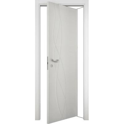 Porta da interno rototraslante Dna Laccato Bianco 80 x H 210 cm dx