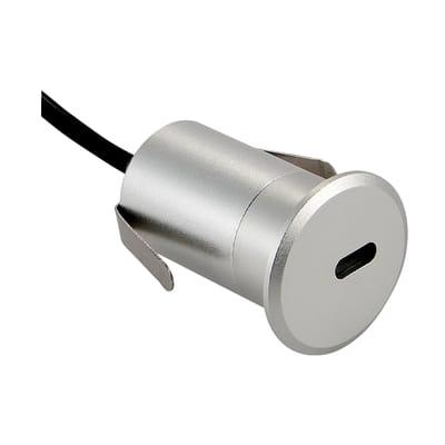 Faretto incasso per esterno a pavimento 23881005 LED Ø 4,2 cm IP65