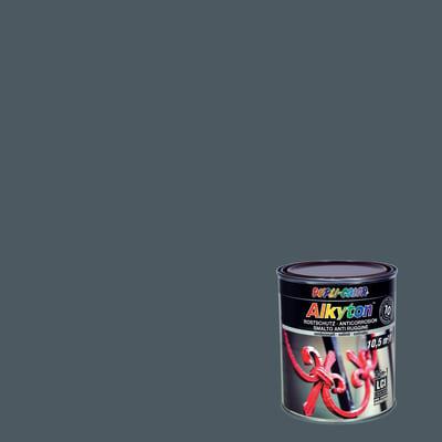 Smalto per ferro antiruggine Alkyton marrone RAL 8017 satinato 0,75 L