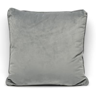 Cuscino Velluto grigio 40 x 40 cm